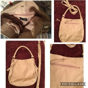 Bueno Faux Pebbled Leather Bag